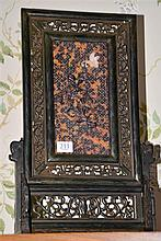 TORTOISE SHELL TABLE SCREEN