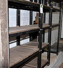 LARGE COLLECTION OF DEXI SHELVING, 10 BAYS