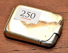 A 1920S STERLING SILVER POCKET PILL BOX