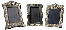 English Hallmarked Sterling Silver Photo Frames