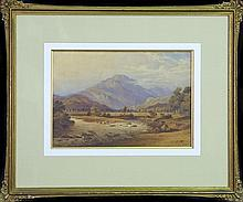 George Barret - Untitled (Landscape) 26.5 x 36.5 cm