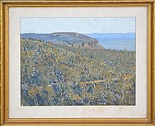 Howard J. Ashton (1877 - 1964) - Blue Mountains Views 23.5 x 28.5cm
