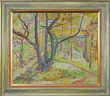 Frank C. Medworth (1892 - 1947) - The Little Wood 50 x 60cm