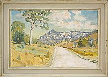 Max Ragless (1901 -1981) - The Road to Rylstone 40 x 60cm