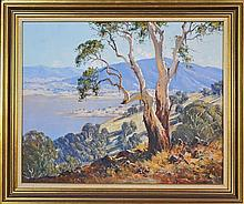 Leonard Long (1911 - 2013) - Above The Lake Jindabyne, Snowy Ranges 61 x 75cm
