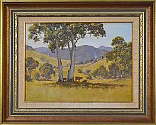 Kevin Best (1932 -2012) - In The Manning Valley 30 x 40cm