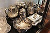 Group of Plated Wares incl Part Tea Set, Entree Dish