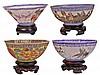 Chinese Ceramic Eggshell Bowls
