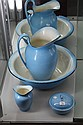 Crownford Duck Egg Blue Wash Jug & Basin Set