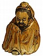 Ivory Carved Figure of a Chinese Elder