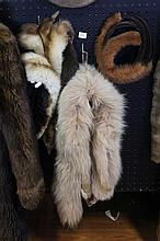 Fur Stoles and Mink Hat