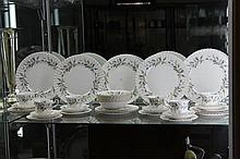 Royal Albert  'Brigadoon' Dinner Setting For Five With Spares
