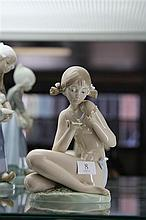 Lladro 'Free as a Butterfly' Figure by Salvador Dobon