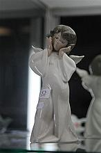 Lladro 'Mime Angel' by Salvador Dobon