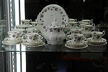 Royal Albert 'Sweet Violets' Tea Service for 6 incl Teapot