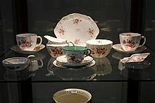 Assorted Royal Crown Derby Tea Wares in Deby Posie