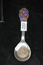 Danish Silver Spoon (Weight - 50g)