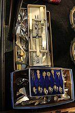 Large Assortment of Silver Plated Cutlery