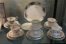 Royal Albert Trios, Plate and Tennis Cup/Saucer