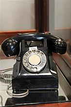 Black Bakelite Phone