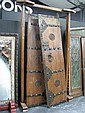 Pair of Oriental Doors with Frame