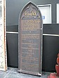 Large Arched Commandment Board