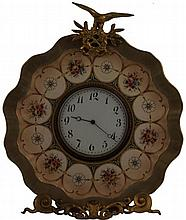 Doulton Burslem Plate French Clock