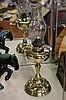 Brass Victorian Kero Lamp
