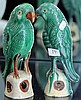 Chinese Pottery Bird Figures