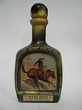 1x Beams Choice 8YO Kentucky Straight Bourbon Whiskey - Frederic Remington decanter series