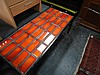 Orange Tile Top Coffee Table