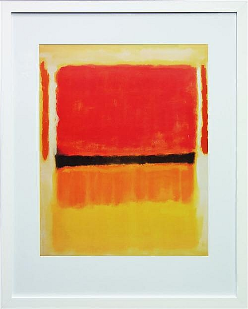 Mark Rothko (1903 - 1970) After. - Untitled, 1949 75 x 61cm