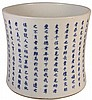 Chinese Blue & White Brushpot