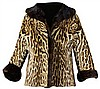 Ocelot Fur Coat by Turner