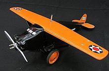 Steelcraft Pressed Steel Toy Airplane.