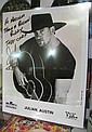 COUNTRY MUSIC JULIAN AUSTIN SIGNED/AUTOGRAPHED BMG B&W; PROMO PHOTO! COA!