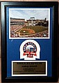 Shea Stadium 1964 - 2008 Wall Plaque Limited Edition Series. Only 5000 made!