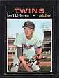 1971 BERT BLYLEVEN ROOKIE MINNESOTA TWINS LOT OF 3
