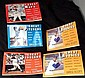 1989 BASEBALL GREAT ROOKIES,MVP's,PITCHERS,SLUGGERS BOOKS! Scott/Gutman LOT OF 5