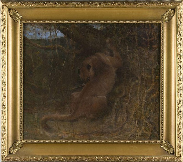 John Swan (Br., 1847-1910), The Panther