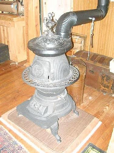 Cast Iron Coal Stove,labeled
