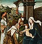 ANTWERP SCHOOL, circa 1530, ADORATION OF THE MAGI
