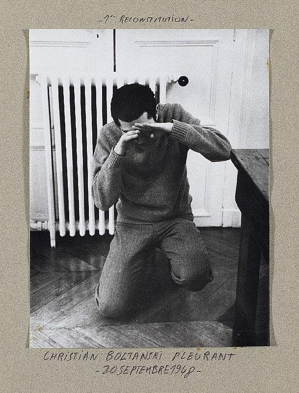 CHRISTIAN BOLTANSKI, Reconstitution des gestes affectués par Christian Boltanski entre 1948 et 1954, 1970