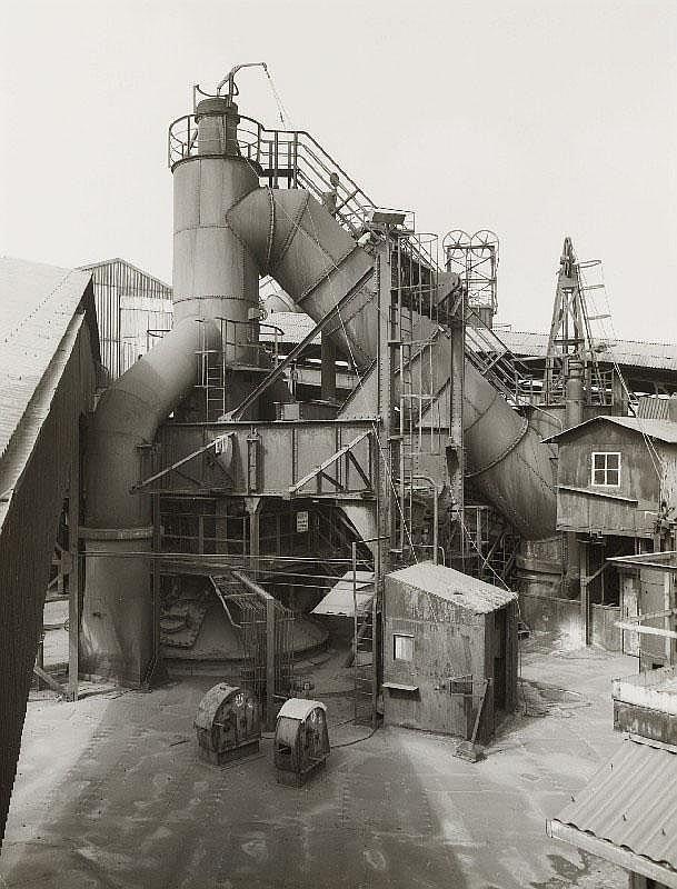 BERND UND HILLA BECHER, Blast Furnace, Liège-Seraing, Belgium, 1984