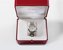 A CARTIER pasha model men's wristwatch.