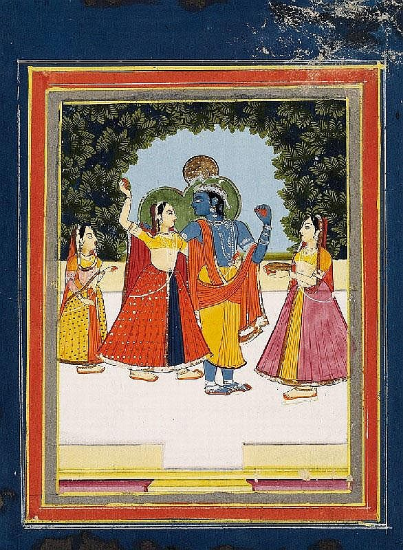 Anonymous. Rajasthan, Jaipur. Mid 19th century.