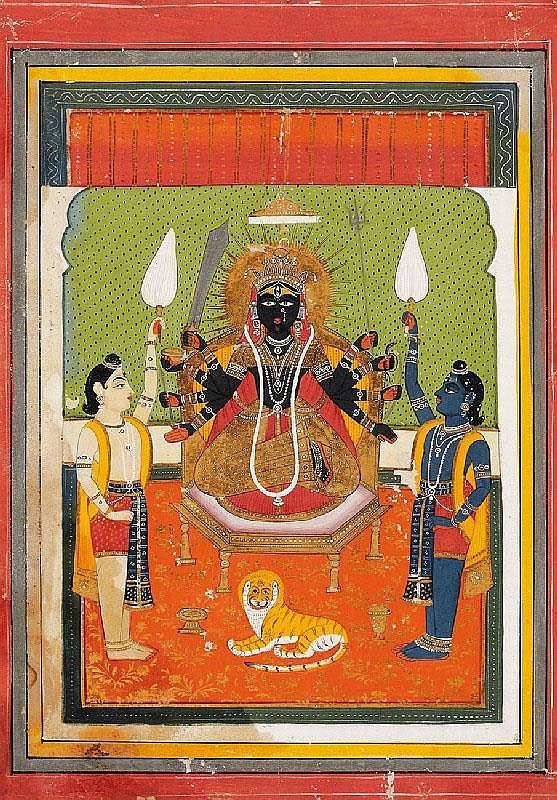 Anonymous. Rajasthan, Jaipur. Around 1820