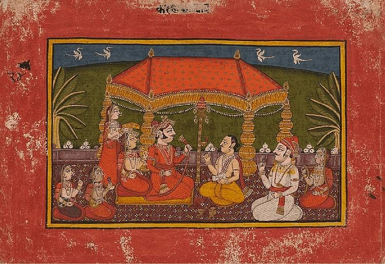Master at the court of Umed Singh I (1770-1819). Rajasthan. Kota. Late 18th century