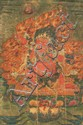 A thangka of Guru Dragpo. Eastern Tibet. 18th century.