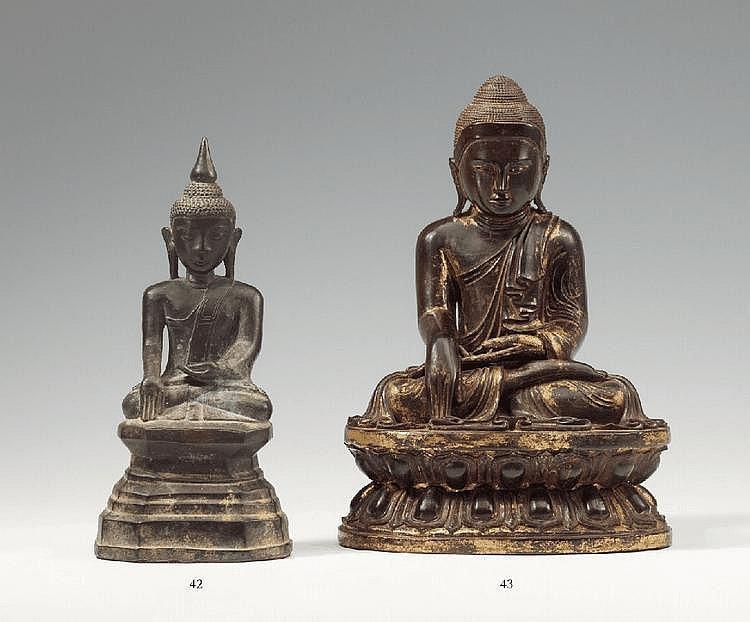A Shan-style bronze Buddha Shakyamuni. 18th/19th century
